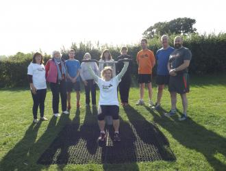 Kingston Field Outdoor Gym Equipment with Doctors 1
