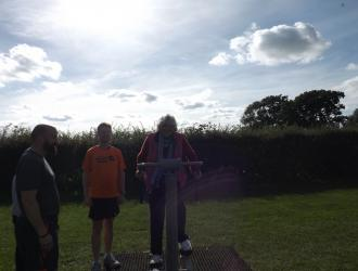 Kingston Field Outdoor Gym Equipment with Doctors 12