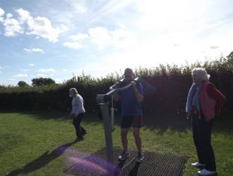 Kingston Field Outdoor Gym Equipment with Doctors 2