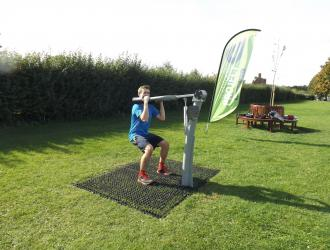 Kingston Field Outdoor Gym Equipment with Doctors 24