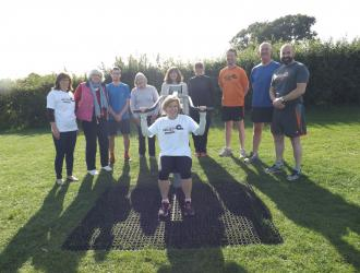 Kingston Field Outdoor Gym Equipment with Doctors 28