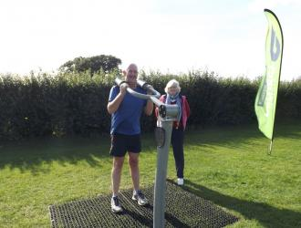 Kingston Field Outdoor Gym Equipment with Doctors 3