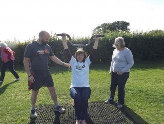 Kingston Field Outdoor Gym Equipment with Doctors 4