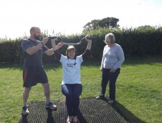 Kingston Field Outdoor Gym Equipment with Doctors 5
