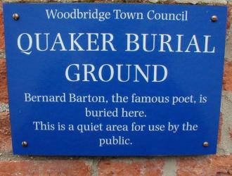 Quaker Burial Ground, Turn Lane, Woodbridge