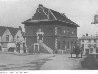 Shire Hall East End Entrance