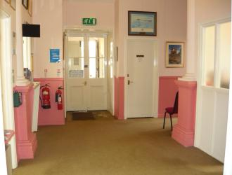 SHIRE HALL LOBBY AREA