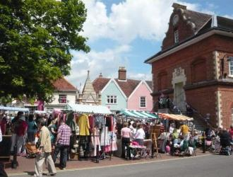 Vintage Market at Shire Hall 2011