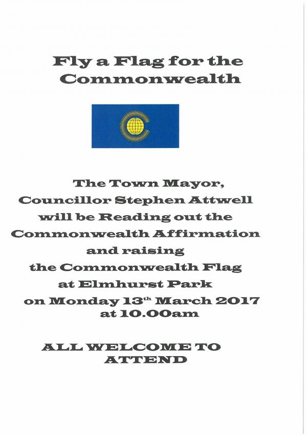 Fly a Flag for the Comonwealth